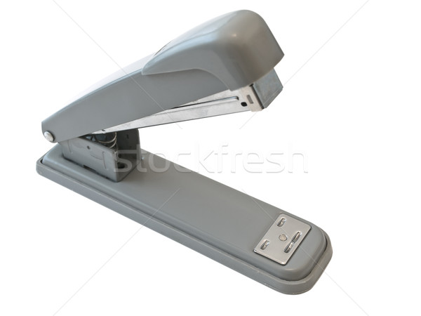 Cucitrice bianco business ufficio metal strumento Foto d'archivio © SRNR
