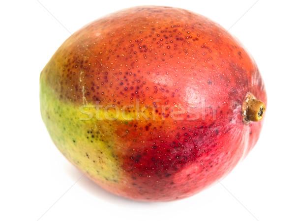 Manga foto branco fruto jardim vermelho Foto stock © SRNR