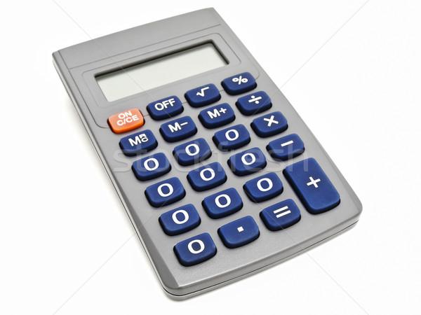 Pari a zero mutui bianco math finanziaria figura Foto d'archivio © SRNR