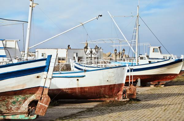 Boats Stock photo © SRNR