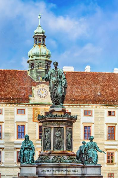 Heilig Romeinse keizer eerste Wenen Oostenrijk Stockfoto © SRNR