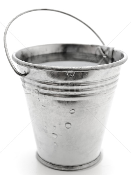 Bucket with Water Stock photo © SRNR