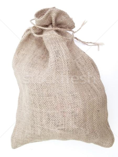 Linen sack Stock photo © SRNR