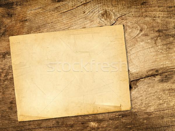 Sheet of paper Stock photo © SRNR