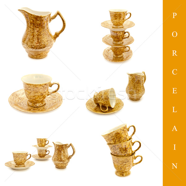 porcelain set Stock photo © SRNR