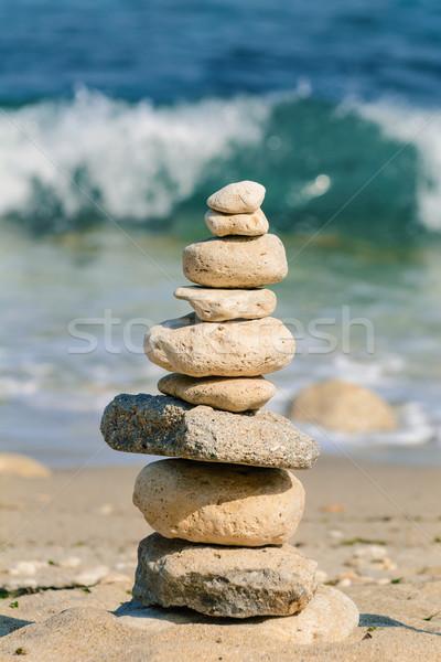 Rock Pyramid Stock photo © SRNR