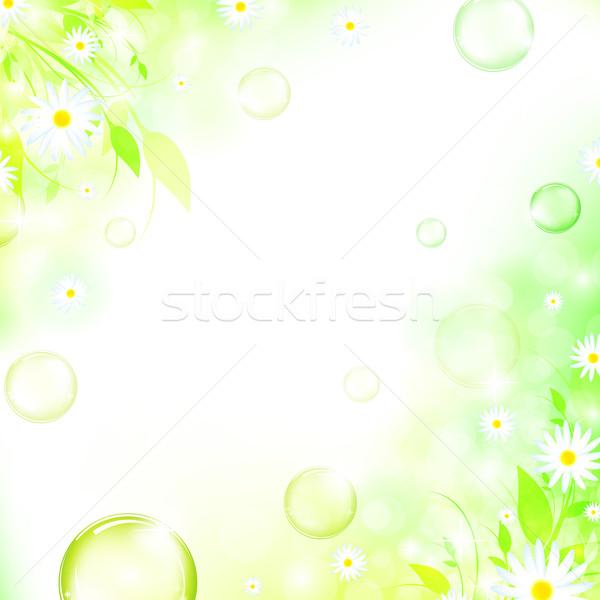 幀 性質 空氣 氣泡 春天 商業照片 © SRNR