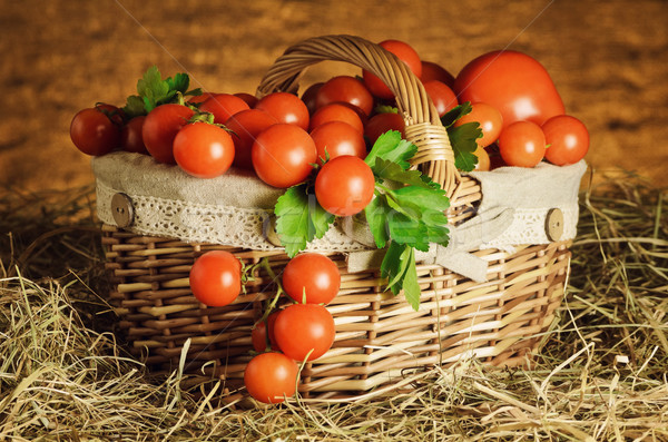 Cherry Tomatoes Stock photo © SRNR