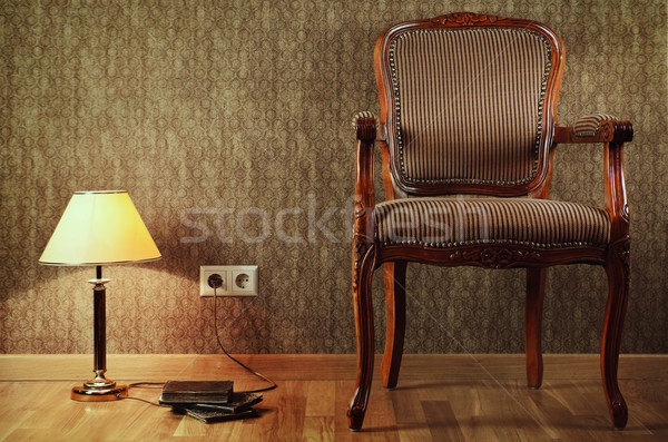 Old Armchair Stock photo © SRNR