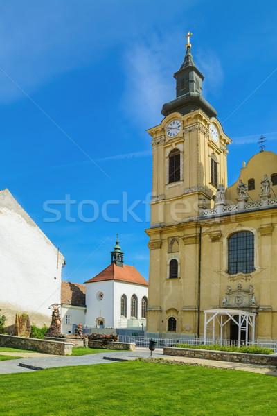 Yard of the Church Stock photo © SRNR
