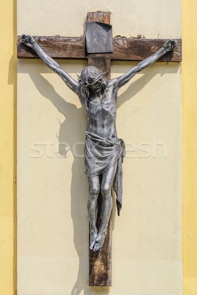 распятие крест Рисунок Христа Иисус религиозных Сток-фото © SRNR