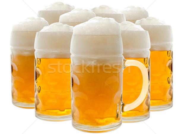 Cerveja branco legal álcool frio fresco Foto stock © SRNR