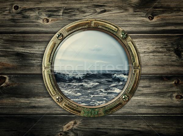 porthole Stock photo © SRNR