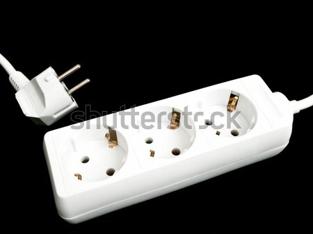 Photo of the extension cord Stock photo © SRNR