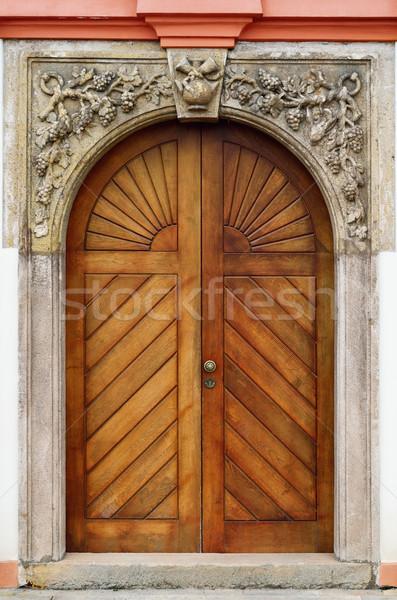 Main Entrance Stock photo © SRNR