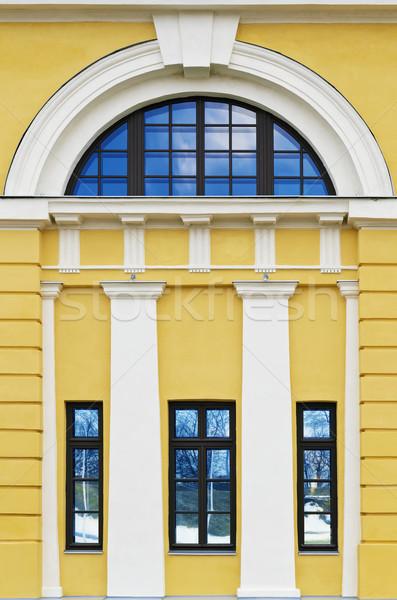 фасад старом доме здании стены домой стекла Сток-фото © SRNR