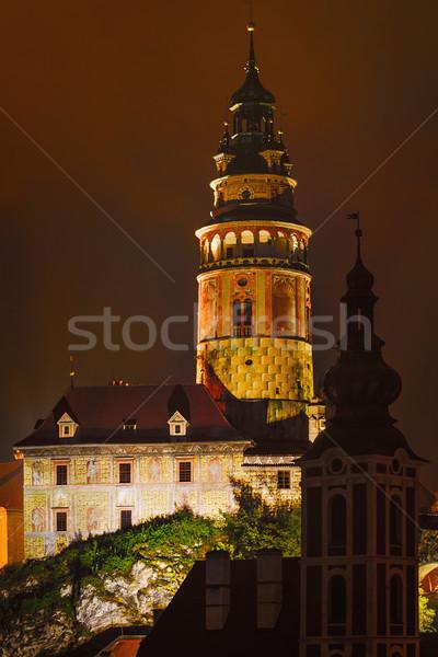城 旧市街 1泊 チェコ共和国 市 壁 ストックフォト © SRNR