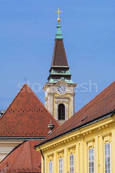 Clock Tower Stock photo © SRNR