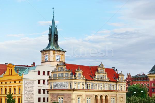 Prague's Ancient Architecture Stock photo © SRNR