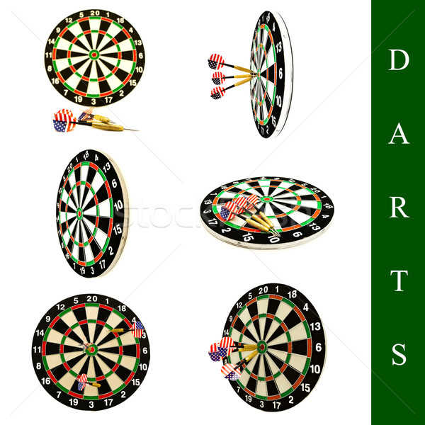 darts set Stock photo © SRNR