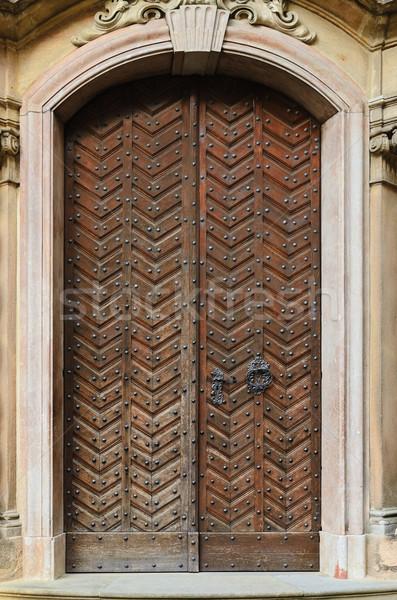 Old Wooden Door Stock photo © SRNR