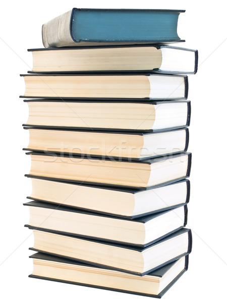Livro branco escolas fundo estudantes Foto stock © SRNR
