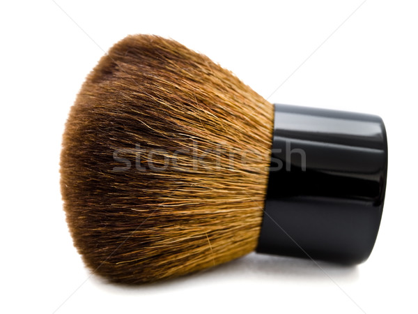 Pó escove branco moda make-up cosméticos Foto stock © SRNR