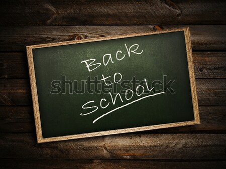 Back to school! Stock photo © SRNR