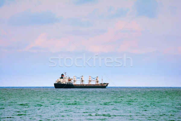 Schip Open zee natuur oceaan horizon Stockfoto © SRNR