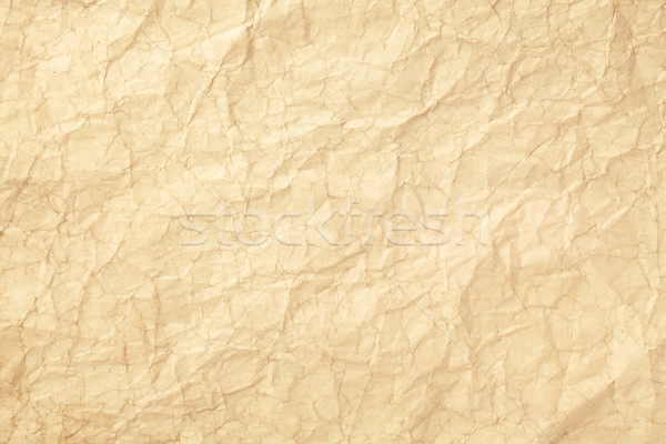Old wrinkled paper Stock photo © SSilver