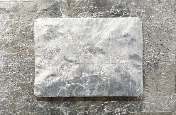Metaal plaat textuur achtergrond industriële staal Stockfoto © SSilver