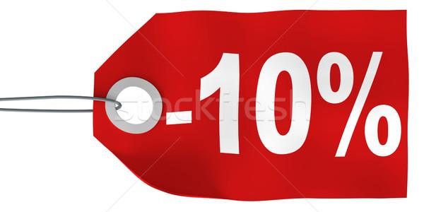 10 tag business metal segno Foto d'archivio © SSilver