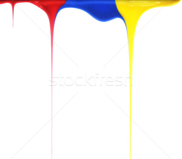 Pouring primary colors Stock photo © SSilver
