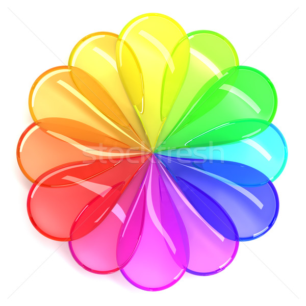 Color wheel Stock photo © SSilver
