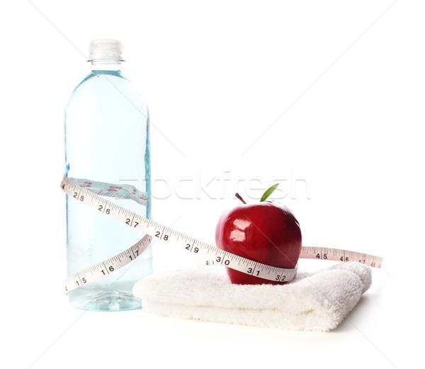 Elma uygunluk meyve spor salonu Stok fotoğraf © SSilver