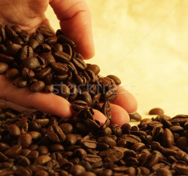 стороны кофе кафе цвета завтрак Сток-фото © SSilver