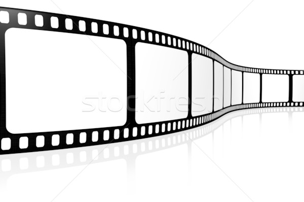 Blank film strip Stock photo © SSilver