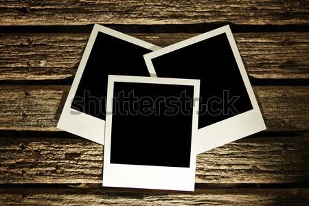 Fotoğrafları ahşap soyut doğa dizayn çerçeve Stok fotoğraf © SSilver