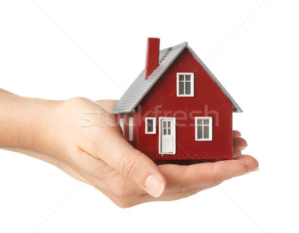 El ev Bina ev güvenlik Stok fotoğraf © SSilver