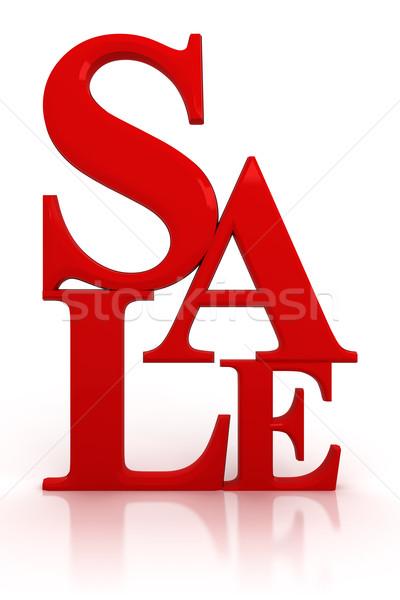 Venda dinheiro compras compras dom branco Foto stock © SSilver