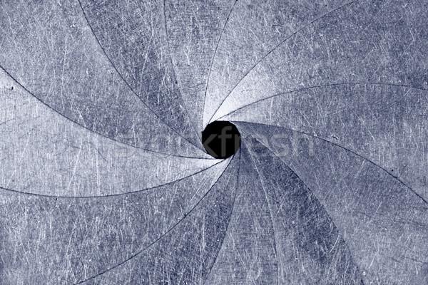 Metal doku doku sanayi plaka endüstriyel çelik Stok fotoğraf © SSilver