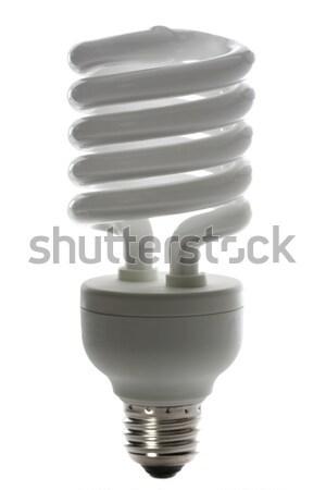 Ampul ışık teknoloji cam lamba enerji Stok fotoğraf © SSilver