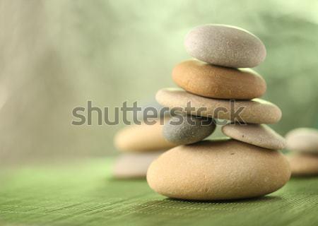 Stock foto: Gestapelt · Steine · Gesundheit · rock · Leben · spa