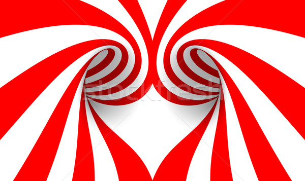 аннотация сердце любви дизайна фон пространстве Сток-фото © SSilver