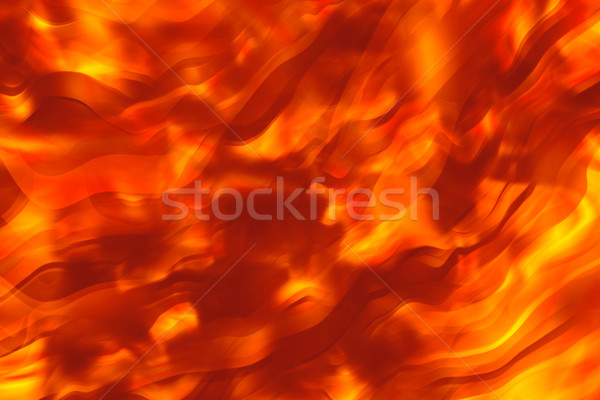 Ateşli sıcak doku arka plan duman dalga Stok fotoğraf © SSilver