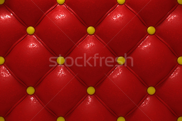 Buttoned leather Stock photo © SSilver