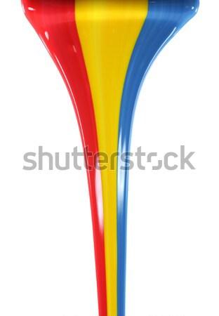 первичный цветами школы аннотация радуга Сток-фото © SSilver