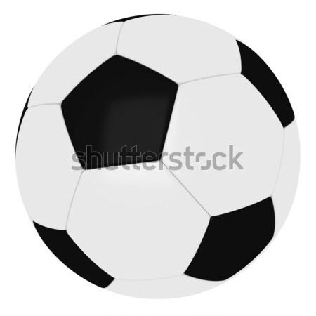 Football - Soccer ball Stock photo © SSilver