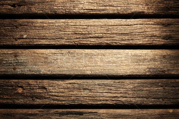 Textura madeira abstrato projeto piso Foto stock © SSilver
