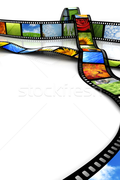 Film with images Stock photo © SSilver